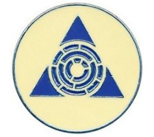 Guild Pin: Azorius Senate