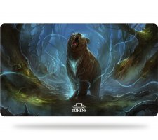 Card Game Tokens Playmat Bear (incl. Protective Tube)