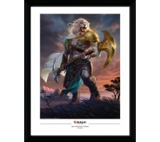 Framed Poster: Ajani, Strength of the Pride