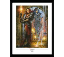 Framed Poster: Chandra, Torch of Defiance