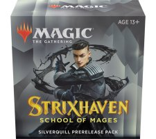 Prerelease Pack Strixhaven: Silverquill (+ free booster Strixhaven: School of Mages)