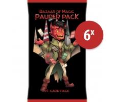Pauper Pack (6 pieces)