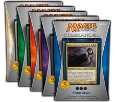 Commander 2013 complete set of decks