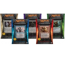 Commander 2014 complete set of decks