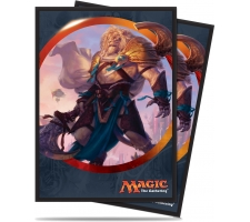 Sleeves Aether Revolt: Ajani Unyielding (80 pieces)