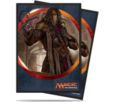 Sleeves Aether Revolt: Tezzeret, the Schemer (80 stuks)