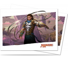 Sleeves Battle for Zendikar: Gideon, Ally of Zendikar (80 pieces)