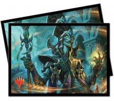 Sleeves Commander 2019: Kadena, Slinking Sorcerer (100 stuks)