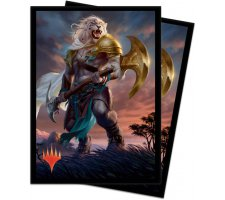Sleeves Core Set 2020: Ajani, Strength of the Pride (100 stuks)