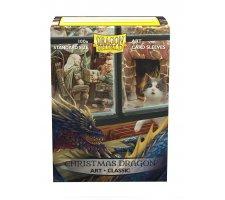 Dragon Shield Art Sleeves Classic Christmas Dragon (100 stuks)
