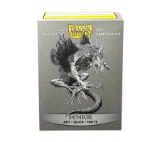 Dragon Shield Art Sleeves Matte Silver: Fenrir (100 pieces)