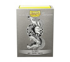 Dragon Shield Art Sleeves Matte Silver: Loki (100 pieces)