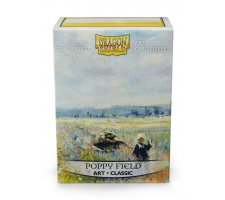 Dragon Shield Art Sleeves Classic Poppy Field (100 stuks)