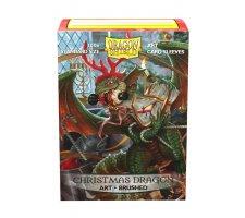 Dragon Shield Art Sleeves Brushed Christmas Dragon 2020 (100 pieces)