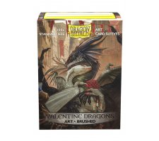 Dragon Shield Art Sleeves Brushed Valentine Dragons 2021 (100 pieces)