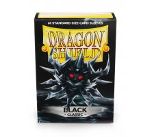 Dragon Shield Sleeves Classic Black (60 pieces)