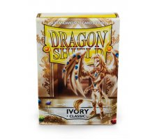 Dragon Shield Sleeves Classic Ivory (60 stuks)
