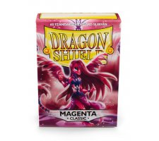 Dragon Shield Sleeves Classic Magenta (60 stuks)