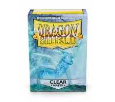 Dragon Shield Sleeves Matte Clear (100 stuks)
