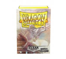 Dragon Shield Sleeves Matte Clear Non-Glare (100 stuks)