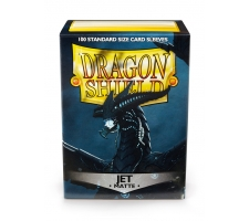 Dragon Shield Sleeves Matte Jet (100 stuks)