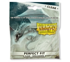 Dragon Shield Sleeves Perfect Fit Clear Side Loading (100 stuks)