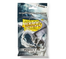 Dragon Shield Sleeves Perfect Fit Clear (100 stuks)