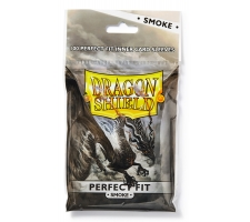 Dragon Shield Sleeves Perfect Fit Smoke (100 stuks)