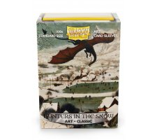 Dragon Shield Art Sleeves Classic Hunters in the Snow (100 stuks)