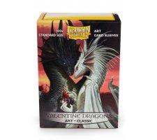 Dragon Shield Art Sleeves Classic Valentine Dragons (100 stuks)