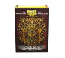 Dragon Shield Art Sleeves Brushed General Vicar: Coat-of-Arms (100 pieces)