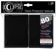 Eclipse Deck Protectors Black (80 stuks)