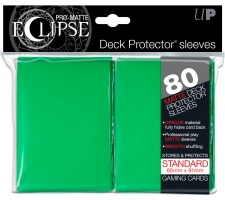 Eclipse Deck Protectors Green (80 pieces)