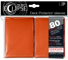 Eclipse Deck Protectors Orange (80 stuks)