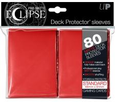 Eclipse Deck Protectors Red (80 stuks)
