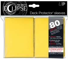 Eclipse Deck Protectors Yellow (80 pieces)