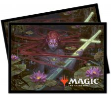 Sleeves Throne of Eldraine: Emry, Lurker of the Loch (100 pieces)