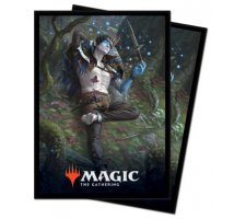 Sleeves Throne of Eldraine: Oko, Thief of Crowns (100 pieces)