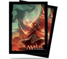 Sleeves Fate Reforged: Sarkhan, the Dragonspeaker (80 pieces)