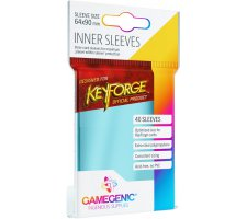 Gamegenic KeyForge Inner Sleeves: Clear (40 stuks)