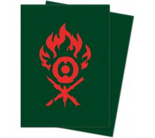 Sleeves Guilds of Ravnica: Gruul Clans (100 stuks)