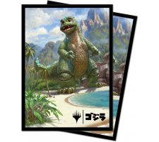 Sleeves Ikoria: Lair of Behemoths: Babygodzilla, Ruin Reborn (100 pieces)