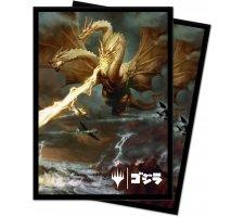 Sleeves Ikoria: Lair of Behemoths: Ghidorah, King of the Cosmos (100 pieces)