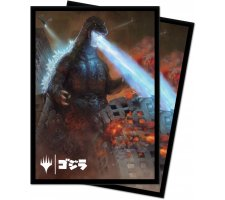 Sleeves Ikoria: Lair of Behemoths: Godzilla, King of the Monsters (100 pieces)