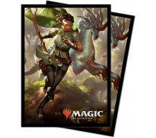 Sleeves Ikoria: Lair of Behemoths: Vivien, Monsters' Advocate (100 pieces)