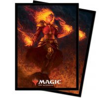 Sleeves Core Set 2021: Chandra, Heart of Fire (100 pieces)
