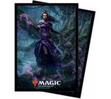 Sleeves Core Set 2021: Liliana, Waker of the Dead (100 pieces)