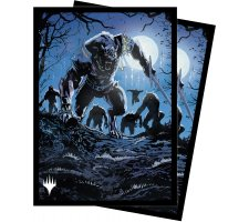 Sleeves Innistrad: Midnight Hunt: Tovolar, Dire Overlord (100 pieces)