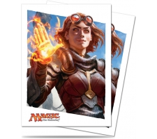Sleeves Oath of the Gatewatch: Chandra (80 stuks)