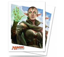 Sleeves Oath of the Gatewatch: Nissa (80 stuks)